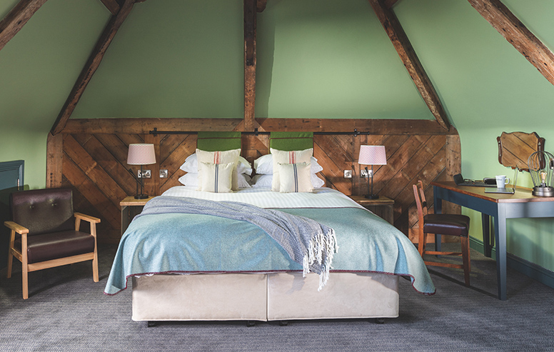Our super king beds provide a dreamy night's sleep